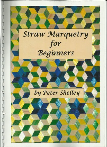 Straw Marquetry for Beginners book cover
